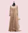 Beige Salwar Kameez with Chikan Embroidery 1