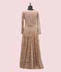 Beige Salwar Kameez with Chikan Embroidery 3