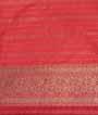 Rama Blue Banarasi Saree Katan Silk Hf Gold Zari 3