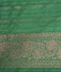 Wine Banarasi Saree Katan Silk Hf Gold Zari 3