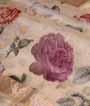 Cream Organza Saree Floral Print 2