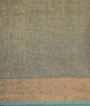 Olive Green Tissue Kota Saree Zardosi With Stone Work 3