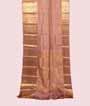 Dusty Pink Kanjivaram Saree In Gold Zari 1