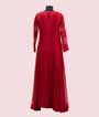 Stylish Full Length Red Striped Kurti  3