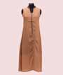 Brown Kurti with Highlighted Buttons  1