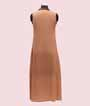 Brown Kurti with Highlighted Buttons  2