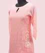 Baby Pink Kurti In Linen 2