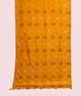 Yellow Muga Silk Saree With Gold Zari 1