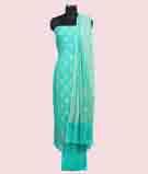 Green Unstitched Salwar Kameez 1