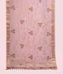 Baby Pink Muga Silk Saree With Cutdana Work 1