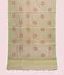 Light Green Kota Cotton Saree With Embroidery Work 1