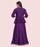 Purple Lehenga Choli 3