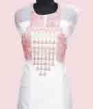 White Unstitched Salwar Kameez 3