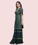 Bottle Green Salwar Kameez 2