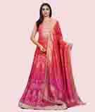 Pink/Orange Salwar Kameez 1