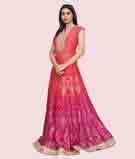 Pink/Orange Salwar Kameez 2