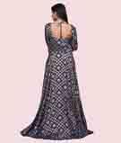 Blue Salwar Kameez 3