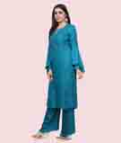Blue Salwar Kameez 2