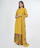 Mustard Salwar Kameez 2