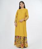 Mustard Salwar Kameez 3