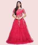 Dark Pink Gown 1