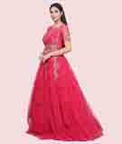 Dark Pink Gown 2