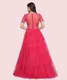 Dark Pink Gown 3