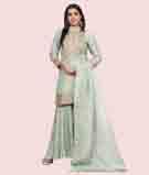 Green Salwar Kameez 1