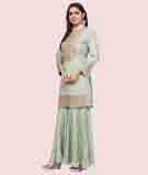 Green Salwar Kameez 2