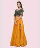 Yellow Lehenga Choli 2