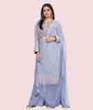 Blue Salwar Kameez 1