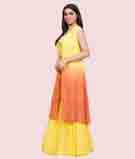 Mustars/Orange Salwar Kameez 2