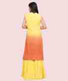 Mustars/Orange Salwar Kameez 3
