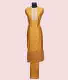 Gold Unstitched Salwar Kameez 2