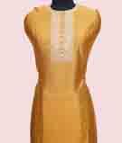 Gold Unstitched Salwar Kameez 3