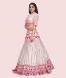 Offwhite/Pink Lehenga Choli 2
