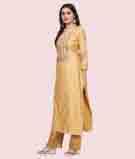 Yellow Salwar Kameez 2