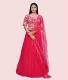 Rain Pink Lehenga Choli 1
