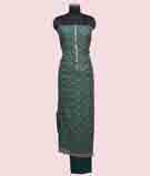 Green Unstitched Salwar Kameez 2