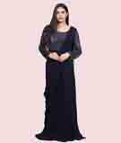 Navy Blue Gown 1