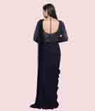 Navy Blue Gown 3