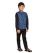 Blue Waistcoat Shirt 2