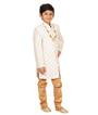 Cream Sherwani 2