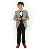 Grey Coat Suit 1