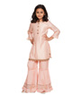 Peach Sharara Suit 1