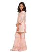 Peach Sharara Suit 2
