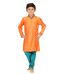 Orange Kurta Set 1
