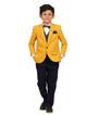 Mustard Coat Suit 1