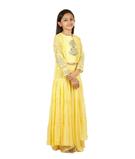 Yellow Chudidar 1