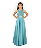 Blue Gown 1